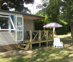 Location mobil-home 2 chambres à Gien